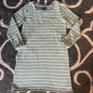 Striped Long Sleeve Gap Dress